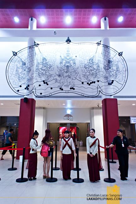 Theater Entrance to Phuket's Siam Niramit Show