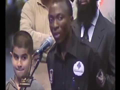 Catholic African Security Guard Accepted Islam - Dr Zakir Naik Dubai 2011