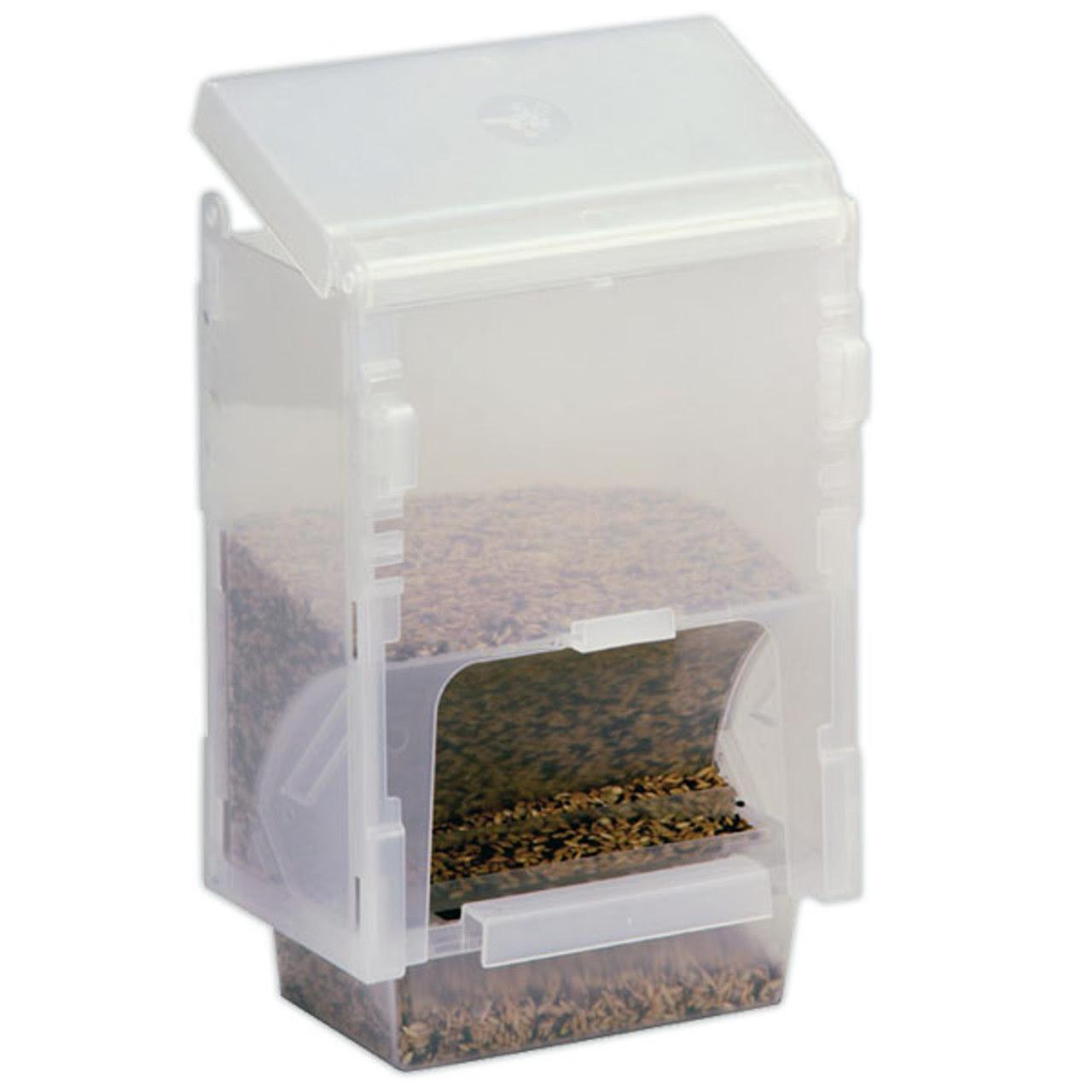 Economy Bird Feeder Dispenser for up to 2 lb bird food.