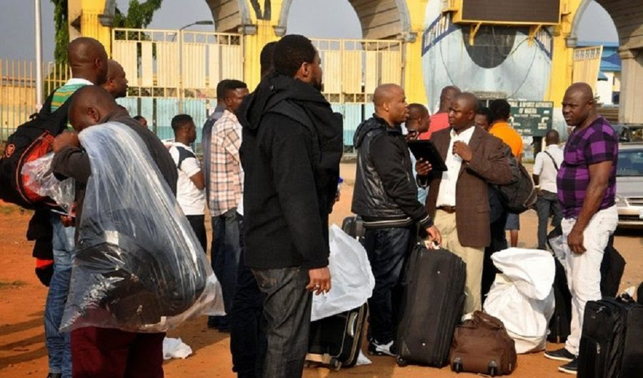 Image result for UK deports 35 Nigerians for immigration offences