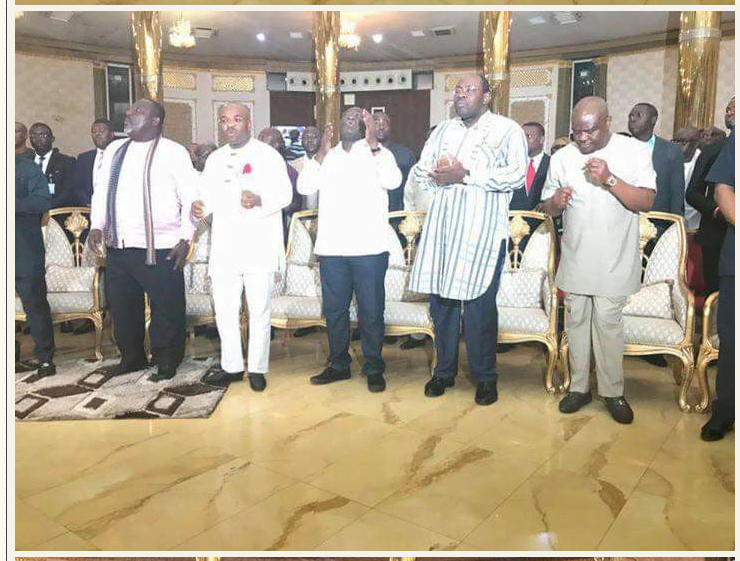 South-south, South-east Governors in midnight prayers [PHOTOS]