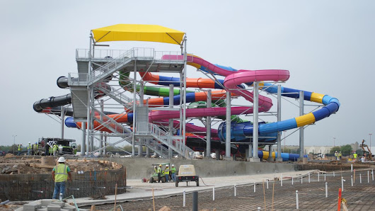 Typhoon Texas, new waterpark in Katy, months away from completion (Video) - Houston Business Journal