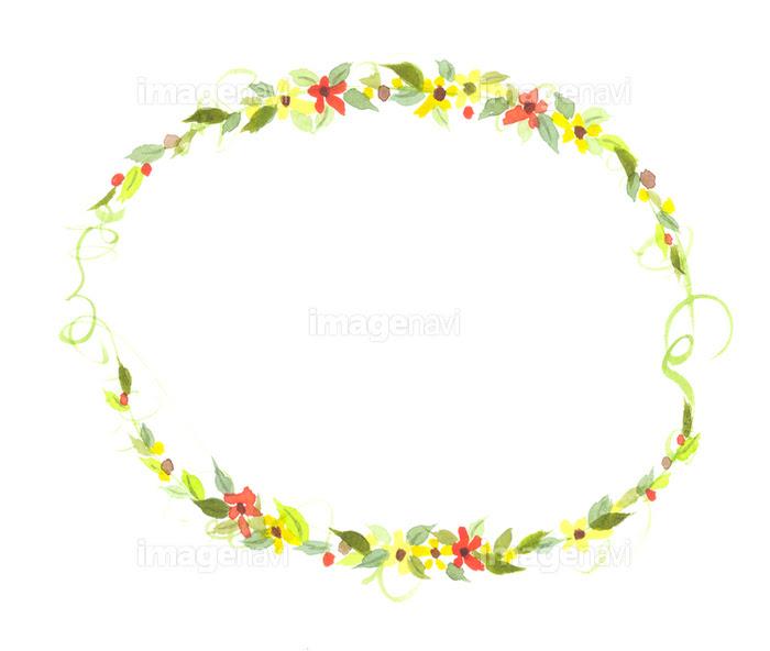 花 フレーム 背景素材のイラストの画像素材31250967 イラスト素材