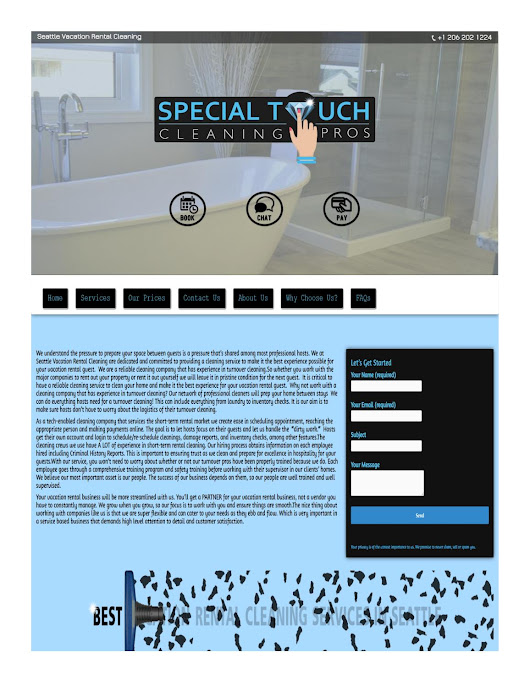 Special touch cleaning pros