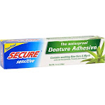 Secure 0540229 Sensitive Denture Adhesive - 1.4 oz tube