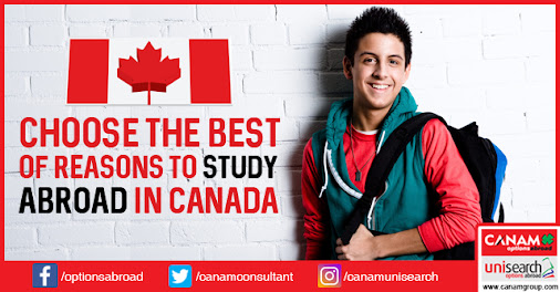 Book your seats to study abroad in Canada with CANAM today! For complete…