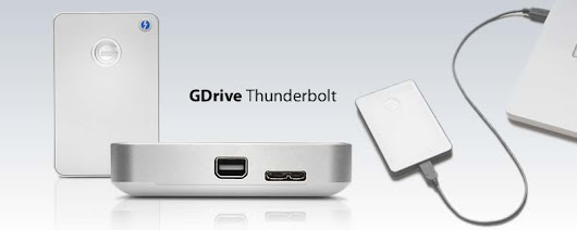 G-Technology G-DRIVE Mobile with Thunderbolt Portable Hard Drive 1TB Review | Mirabilia.net
