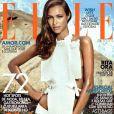 A modelo na capa da 'Elle Brasil'