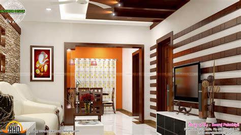 simple apartment interior  kerala kerala home design