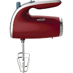 Brentwood 5-Speed Red Hand Mixer HM-48R