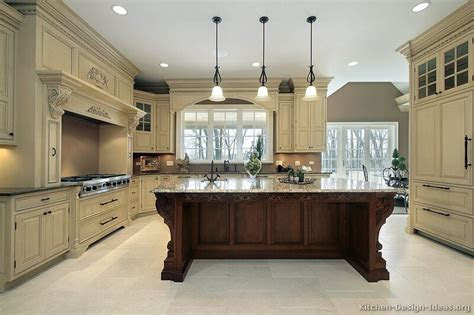 pictures  kitchens traditional  tone kitchen cabinets
