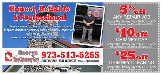 Chimney Service, Coupon, Savings, Chimney Cleaning | Wayne, NJ