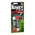 Elmers Instant Krazy Glue, All Purpose - 2 pack, 0.07 oz tubes