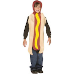 Hot Dog Child Costume - 1512 - Brown - One-Size