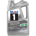 Mobil 1 Synthetic Motor Oil, 10W-30, 5-Qt.