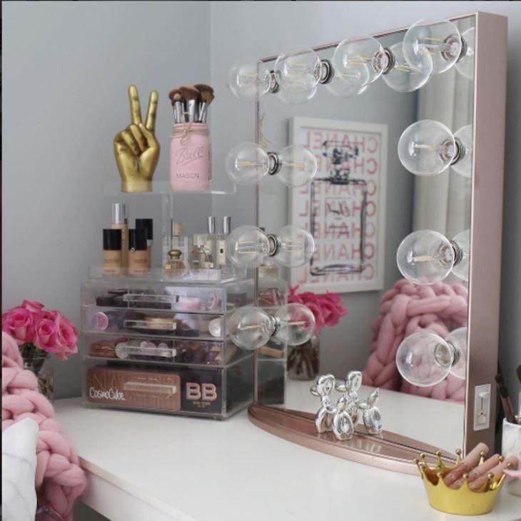 China Vanity Girl Hollywood Lighted Vanity Makeup Mirrors