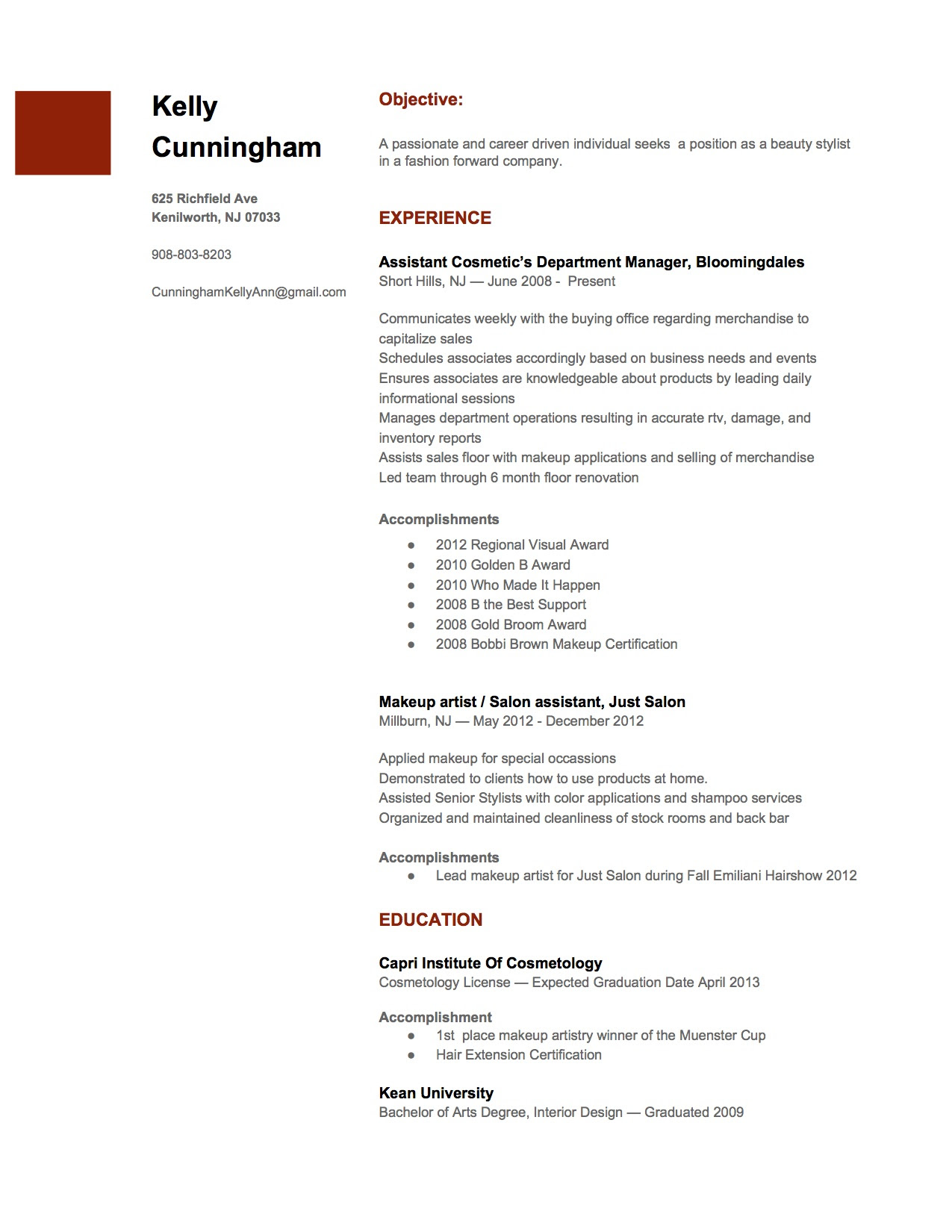 25 awesome standard resume example  best resume examples