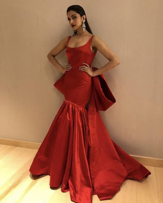 Ooo. Eem. Gee! Deepika Padukone Looked Sizzling in Her Glamorous Hot Red Avatar