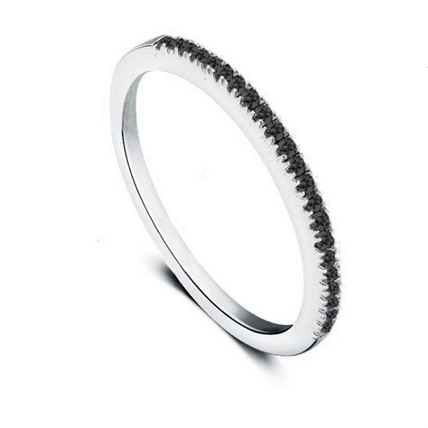 Colorfish 925 Sterling Silver Simple Fine Ring Women 1Mm