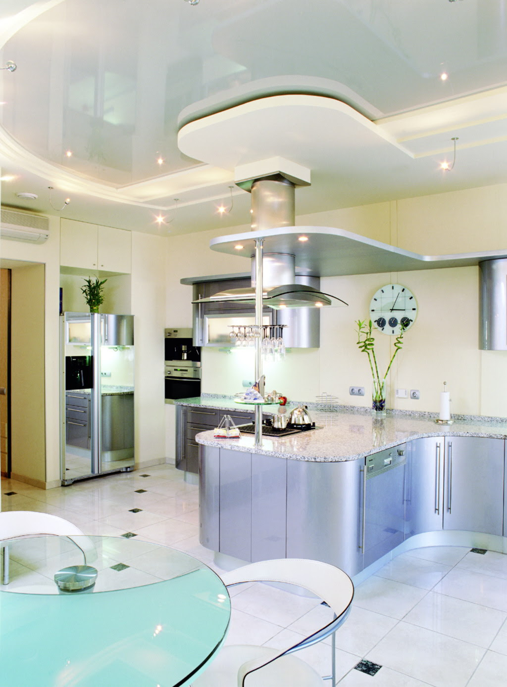 Bright Kitchen Décor in Minimalist Design  MYKITCHENINTERIOR