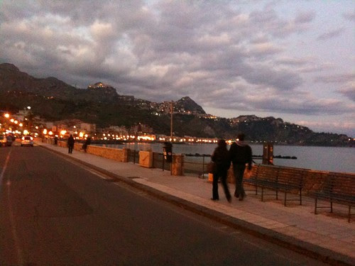 Along Tysandros Way, Giardini-Naxos