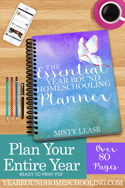 Planning For Your Year-Round Homeschool