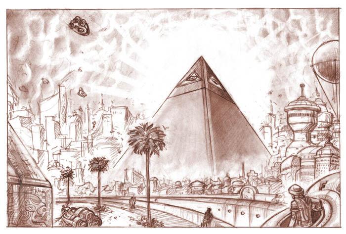 Resultado de imagen de Pirámide Oscura