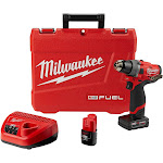 Milwaukee M12 FUEL Lithium-Ion Brushless Cordless Drill Kit