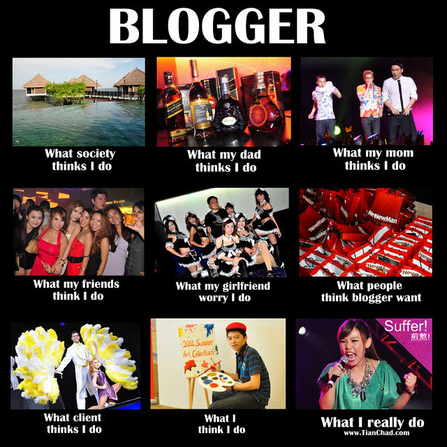 MEME: What Blogger Do | TianChad.com