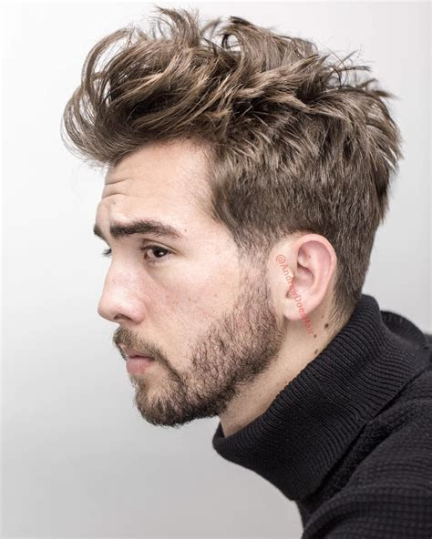 medium length hairstyles  men improb