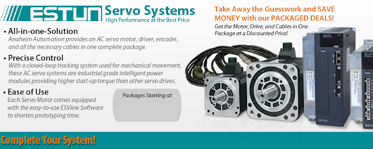 Servo Systems - Shop Online for Low-Cost Servo Motors and Drives