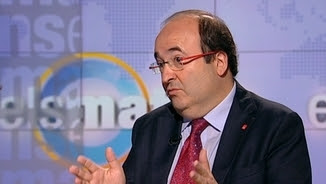 """Miquel Iceta, aquest dilluns, a """"Els matins"""" de TV3"""