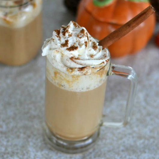 Pumpkin Latte: Starbucks Copycat Recipe