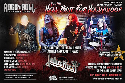 Judas Priest Return for Third Rock and Roll Fantasy Camp