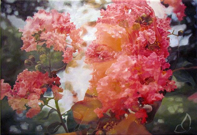 Pakayla Biehn Double Exposure 1 Peintures par Pakayla Biehn : Double Exposition