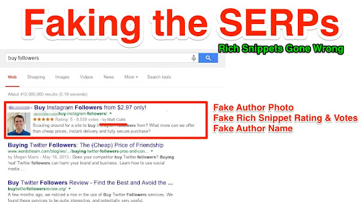 Faking the SERPs - Rich Snippet Hacks & Penalties