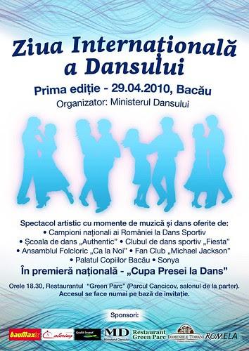 Afis-Ministerul Dansului