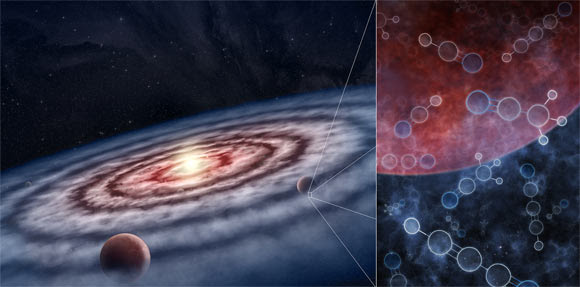 """Astrophysicists Identify """"Significant Reservoirs"""" of Organic Molecules Necessary To Form the Basis of Life"""