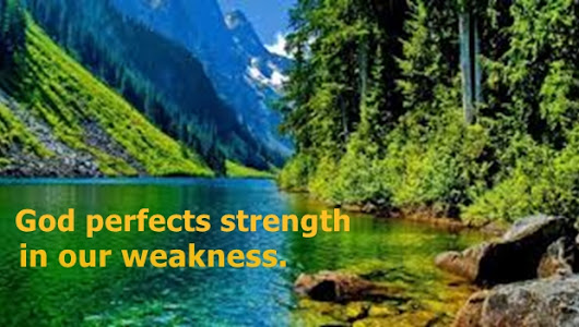 God Perfects Strength