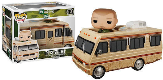 Funko Pop Rides Breaking Bad – The Crystal Ship
