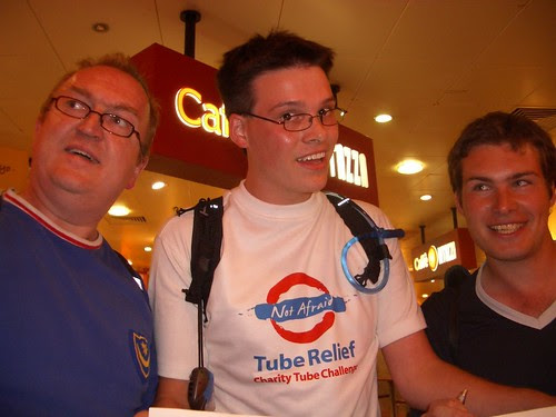 Tony Bell, David Scard and Ric Bracenbury at Euston 1545