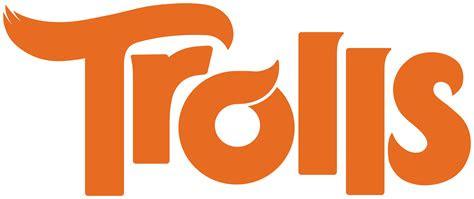 trolls logo transparent png flat design