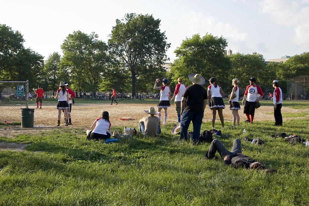 Softball days