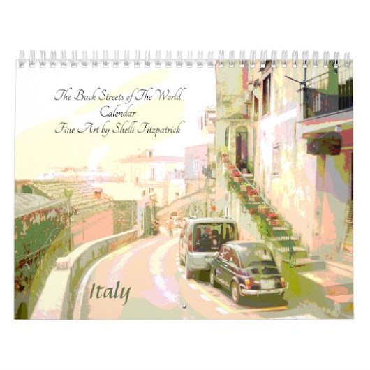 Back Streets of the World Fine Art Calendar