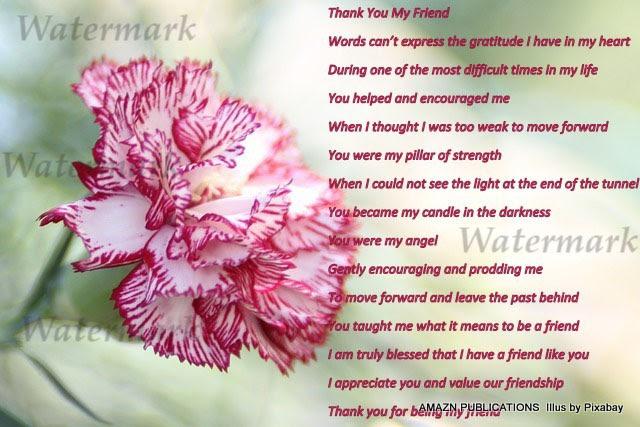 Thank You My Friend Ecard Amaznecards