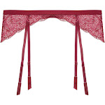 Cosabella Sugar Eloquii Garter Belt - Womens - Red - Xlarge