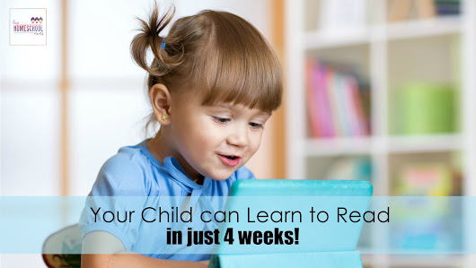 Your Child Can Learn to Read in Just 4 Weeks!