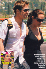 Brad Pitt and Angelina Jolie wearing Sir Alistair Rai