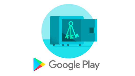 Google Play App Signing can store your signing key in the cloud