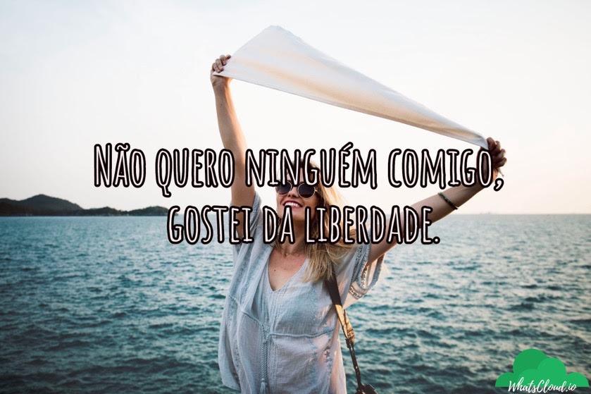 Textos E Legendas De Solteira Sim Mas Sozinha Nunca Para Whats